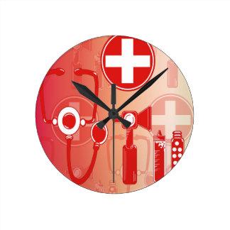 Toy Doctor & Nurse Kit Clock