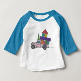 Toy factory's truck toy factory track/truck baby T-Shirt