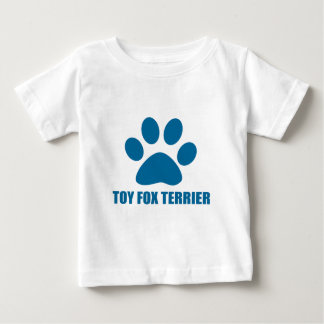 TOY FOX TERRIER DOG DESIGNS BABY T-Shirt