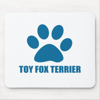 TOY FOX TERRIER DOG DESIGNS MOUSE PAD