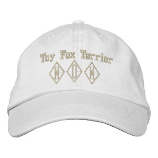 Toy Fox Terrier Mom Gifts Embroidered Hat