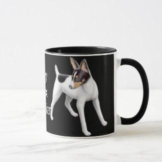 Toy Fox Terrier Ringer Mug