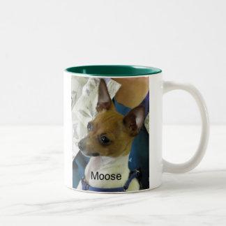 Toy Fox Terrier Two-Tone Coffee Mug