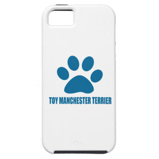 TOY MANCHESTER TERRIER DOG DESIGNS iPhone 5 CASE