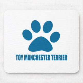 TOY MANCHESTER TERRIER DOG DESIGNS MOUSE PAD