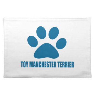 TOY MANCHESTER TERRIER DOG DESIGNS PLACEMAT