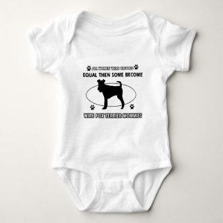toy manchester terrier mommy designs baby bodysuit