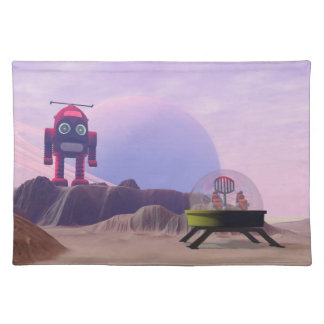 Toy Moon Walker Scene American MoJo Placemats