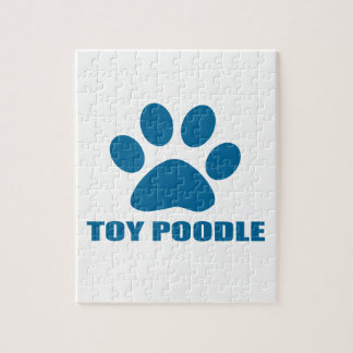 TOY POODLE DOG DESIGNS JIGSAW PUZZLE