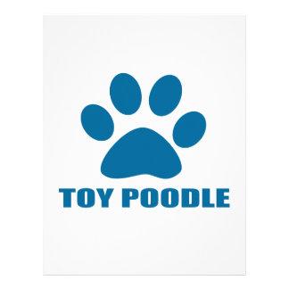 TOY POODLE DOG DESIGNS LETTERHEAD