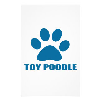 TOY POODLE DOG DESIGNS STATIONERY