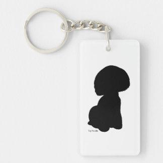 Toy poodle key holder toy poodle keychain
