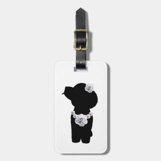 Toy poodle luggage tag toy poodle Luggage tag