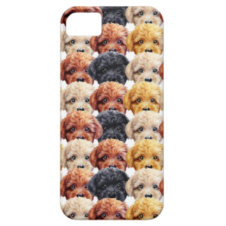 Toy poodle Original painting and design by miart iPhone 5 Case