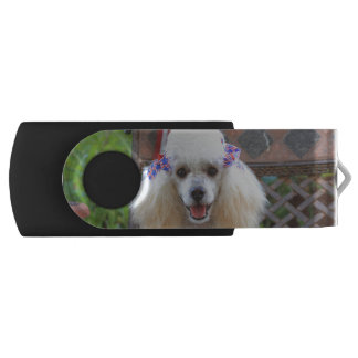 Toy Poodle USB Swivel USB 2.0 Flash Drive