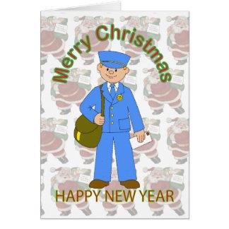 Toy Postman Christmas Card