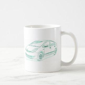 Toy Prius gen2 2004+ Coffee Mug