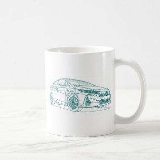 Toy Prius Prime 2017 Coffee Mug