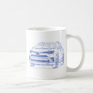 Toy Rav4Hybrid 2016 Coffee Mug