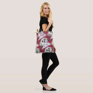 TOY SHIH TZU TOTE BAG