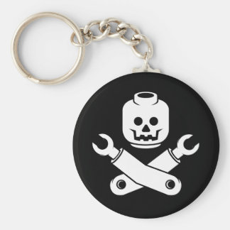 toy skull and crossbones key chains