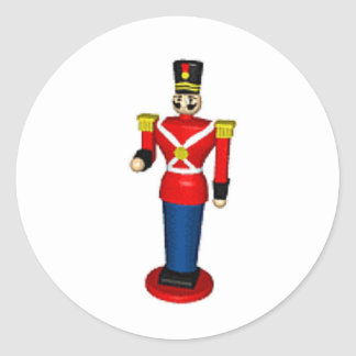 Toy Soldier Classic Round Sticker