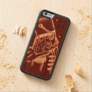 Toy Soldier in Cranberry Red Carved Cherry iPhone 6 Bumper Case