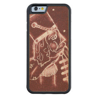 Toy Soldier in Cranberry Red Carved Maple iPhone 6 Bumper Case