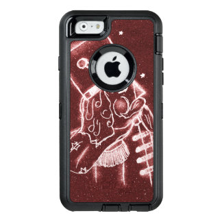 Toy Soldier in Cranberry Red OtterBox Defender iPhone Case