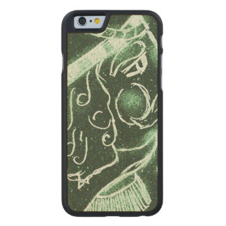 Toy Soldier in Deep Forest Green Carved® Maple iPhone 6 Case