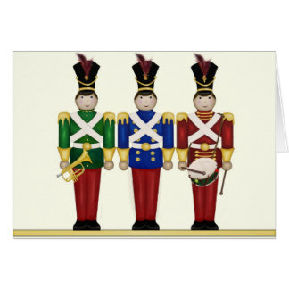 Toy Soldiers Christmas Card