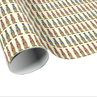 Toy Soldiers On Parade Wrapping Paper