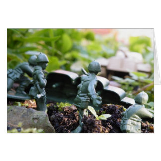toy soldiers take on tank card