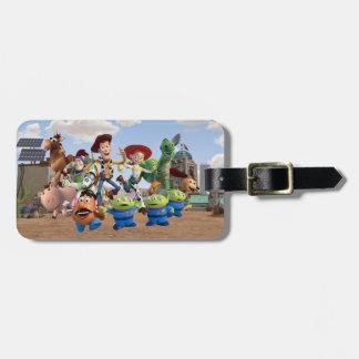 Toy Story 3 - Photo d'équipe Étiquettes De Bagages