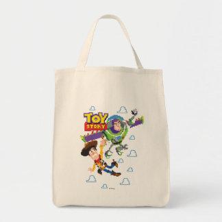 Toy Story 8Bit Woody and Buzz Lightyear