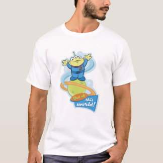 """Toy Story Alien """"Out of This World"""" T-Shirt"""