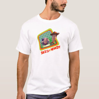 Toy Story Buzz and Woody Friends design T-Shirt