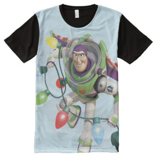 Toy Story | Buzz Lightyear Decorating Christmas All-Over-Print T-Shirt