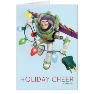 Toy Story | Buzz Lightyear Decorating Christmas Card