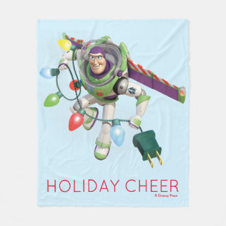 Toy Story | Buzz Lightyear Decorating Christmas Fleece Blanket