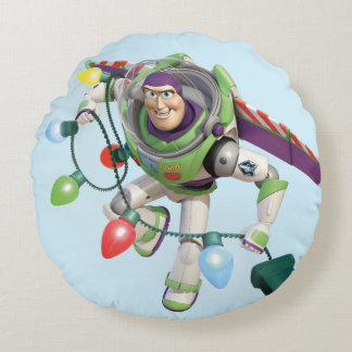 Toy Story | Buzz Lightyear Decorating Christmas Round Pillow