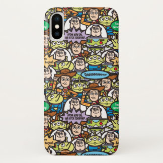 Toy Story | Cute Toy Pattern iPhone X Case