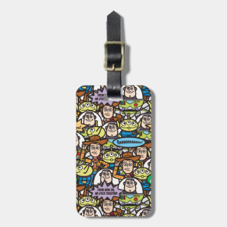 Toy Story | Cute Toy Pattern Luggage Tag