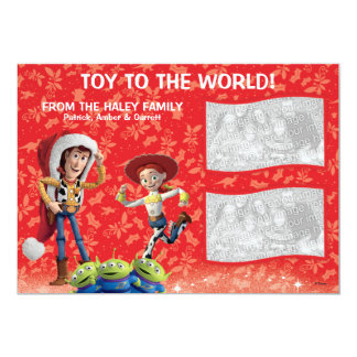 "Toy Story: Holiday Card 5"" X 7"" Invitation Card"