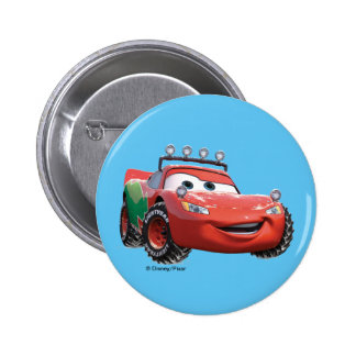 Toy Story | Lightning McQueen Looking Good 2 Inch Round Button