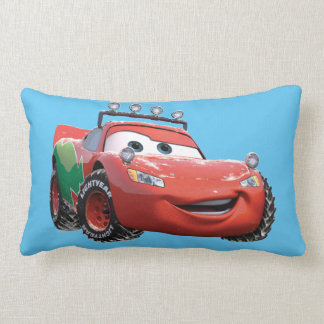 Toy Story | Lightning McQueen Looking Good Lumbar Pillow