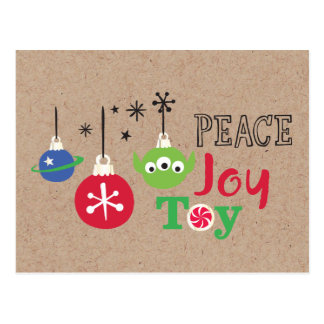 Toy Story | Peace Joy Toy Postcard