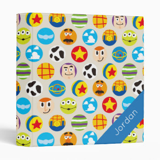 Toy Story | Toy Icon Pattern 3 Ring Binder