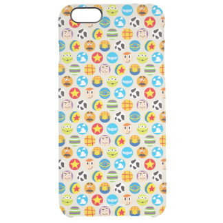 Toy Story | Toy Icon Pattern Clear iPhone 6 Plus Case