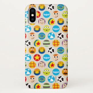 Toy Story | Toy Icon Pattern iPhone X Case